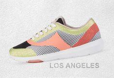 Women Sneaker LAX (Los Angeles) in orange - Release Summer2016