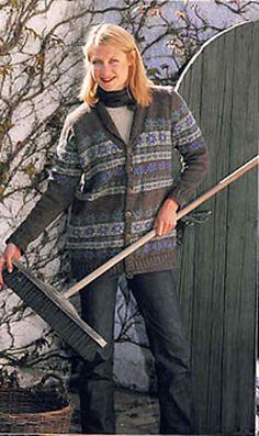 Ravelry: Cardigan pattern by DROPS design Cardigan Pattern, Drops Design, Ravelry, Tweed, Winter Jackets, Medium, Fashion, Winter Coats, Moda