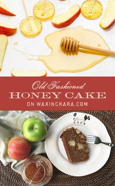 This Apple Honey Cake is perfect for the Jewish New Year, or something to make when you have too many leftover apples. Its a simple and delectable recipe like by adults and kids. Let them eat cake!