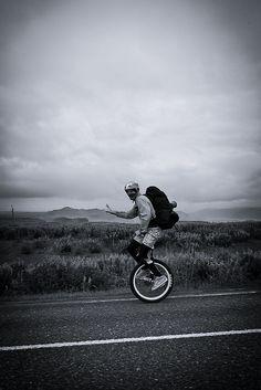 Unicycle race