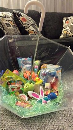 Create a grown up girls easter basket use wheat grass to create umbrella easter basket by dawn negle Gallery