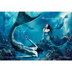 Mermaids ❤ liked on Polyvore featuring mermaid and disney