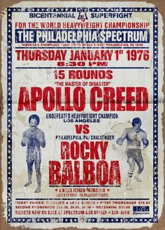 Rocky Balboa Poster, Rocky Poster, Rocky Balboa Movie, Rocky Sylvester Stallone, Stallone Rocky, Rocky Series, Rocky Film, Wrestling Posters, Boxing Posters