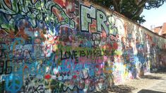 Prague-John Lennon Wall