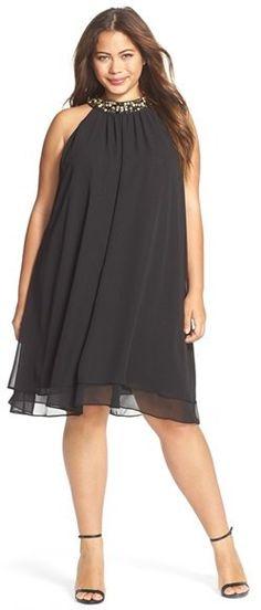 h m plus lace dress casual