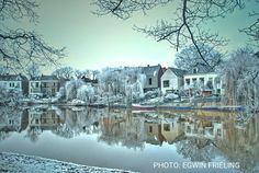 Winter in Zwolle, the Netherlands
