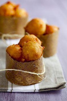 Pumpkin Drop Doughnuts from laraferroni.com.