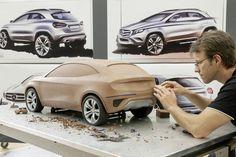 OG | 2014 Mercedes-Benz GLA | Clay model