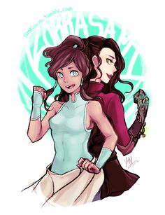 yumribbun:  wow i haven't drawn for a while, im sorry followers.  here's some korra and asami cause i love them so much and i just want them to forget that piece of shit Mako and make out with each other instead ok i'm loving the ladies in Korra, they are all so badass eSPECIALLY LIN OH GOD LIN /uncontrollable sobbings