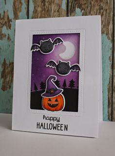 Lawn Fawn Video {10.16.14} Halloween Card