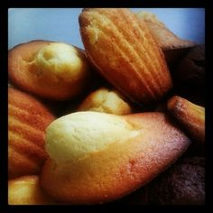 Madeleines - cook by cln