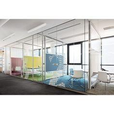 Divisória de Vidro para Escritorio - Ox Decor Vidros
