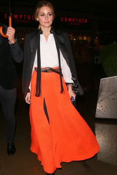 5) Long live the maxi skirt.