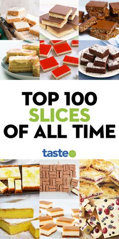 Top 100 best slices of all time - Here they are: Australia's all-time best sweet slices. With everything from no-bake to cheesecake - Baking Recipes, Cake Recipes, Dessert Recipes, Baking Snacks, Desserts, Sweet Cooking, Cafe Food, Biscuit Recipe, Sweet Recipes
