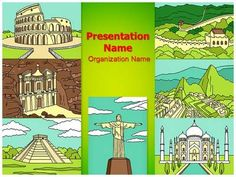 Powerpoint presentation on 7 wonders of the world