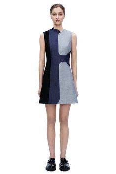 Victoria Beckham denim dress