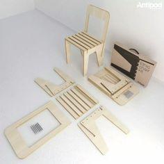 etsidi design - flatpack chair
