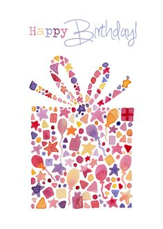 Felicity French Illustration: Happy birthday!