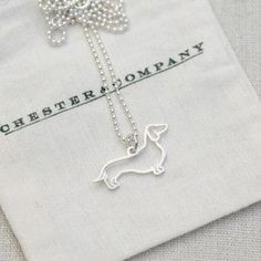Cute Doggy Necklace.