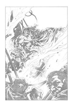 King Conan: The Conqueror #2 Cover by Tomas Giorello Comic Art