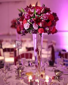 Love the choice of colors for the center piece flowers! Especially having the pink tiger lilies in the arrangement. Our colors are going to be shades of pink, purples, and maybe even some pops of vibrant blues!
