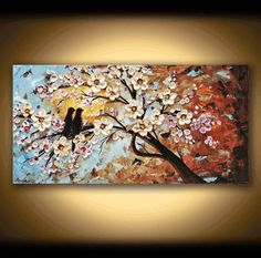 PAINTING abstract painting Landscape painting by jolinaanthony, $369.00