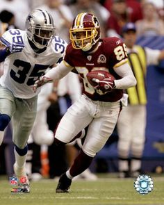 washington redskins super bowl victories | Santana Moss Photo Enlargement