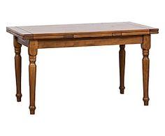 Tavolo allungabile in legno Susan noce - 140x78x80 cm