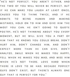 The perfect guy for you.