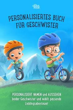 Strengthen the bond with the sibling by reading - Die Abenteuer von Hannah und Emilia - Kleinkind Diy Gifts For Mom, Diy Gifts For Friends, Easy Diy Gifts, Personalized Books, Best Dad, You Are The Father, Siblings, Bond, Honey