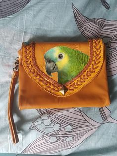 49a7e1770d80 33 Best Parrot-themed Leather Goods images in 2019