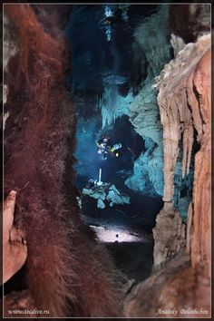 Mexican Underwater Cave