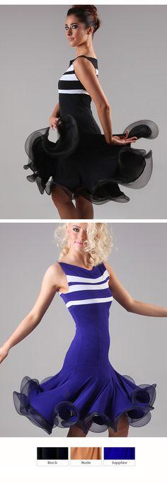 DSI Lexi Latin Dance Dress 3410