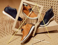 Clarks Hybrids – Spring/Summer 2013 Leather Collection