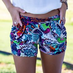 The most comfortable shorts EVER are back in stock and just $12! Shop www.AthenaAttire.com