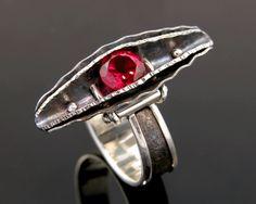 Ring    R G Hedstrom.  Synthesized Titanium Ruby Pod
