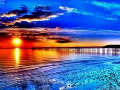 Sonne am Meer