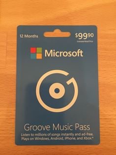 Groove Music Pass – 1 Year Subscription  http://searchpromocodes.club/groove-music-pass-1-year-subscription/