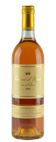 1982 Chateau d'Yquem Sauternes Blend