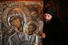 Kai, Jesus Father, The Holy Mountain, Mama Mary, Blessed Mother Mary, Byzantine Icons, Tyrannosaurus Rex, Orthodox Icons, St Joseph