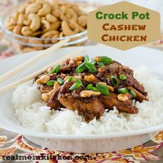 Crock Pot Cashew Chicken Recipe on Yummly. @yummly #recipe