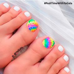 Pretty Toe Nails Designs ★ See more: https://naildesignsjournal.com/pretty-toe-nails-designs/ #nails