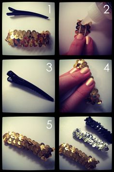 ban.do inspired hair clips