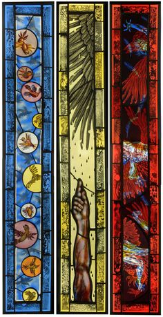 Judith Schaechter's Surreal Stained Glass Works of Art | Hi-Fructose Magazine