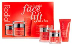 Rodial The Liquid Facelift in a Box by Rodial. $125.00. This limited edition The Liquid Face Lift In A Box set by Rodial features three cult products with dragon's blood extract, a bright red botanical resin that aims to plump and smooth the skin. $65 savings!. This limited edition The Liquid Face Lift In A Box set by Rodial features three cult products with dragon's blood extract, a bright red botanical resin that aims to plump and smooth the skin. $65 savings! ...