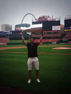 Brandon Bollig and the Cup in St Louis