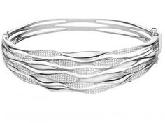 White gold with diamonds bracelet <3