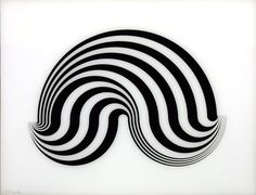 Bridget Riley. Fragment 5/8', 1965 (screenprint on Perspex) | Tate