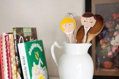 DIY: Bridal spoon favors - Brooklyn Bride - Modern Wedding Blog