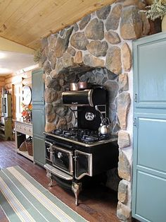 This reminds me of grandpa's cook stove only it was wood not gas, and white.